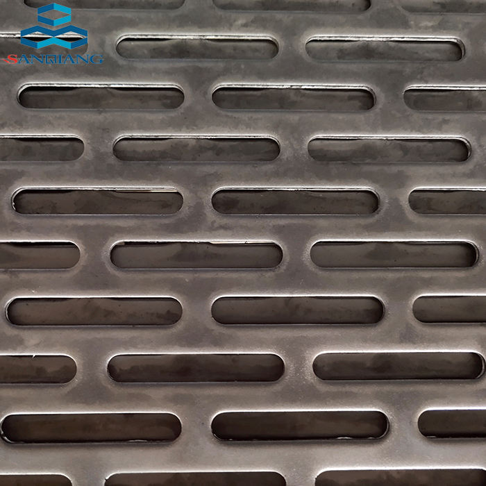 Grille Perforated Metal Expanded Mesh sheet all kinds of hole shape