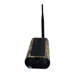 WiFi Game Trail Camera 1080P Hunting Trail Camera with Solar Panels, 8pcs 850nm LED lights