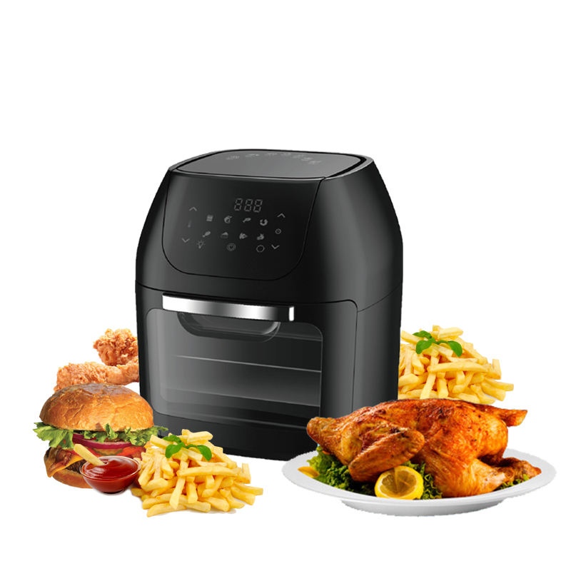 Stainless Steel Electric Home Use Wholesale Healthy Deep Fat Air Fryer Without Oil