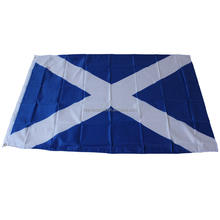 Cheap Scotland 3x5ft Durable Polyester National Flag With Two Grommets