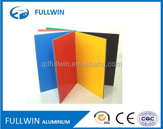 2017 Çin fabrika Alüminyum ACP/ACM mutfak dolapları için fırçalanmış alüminyum kompozit panel