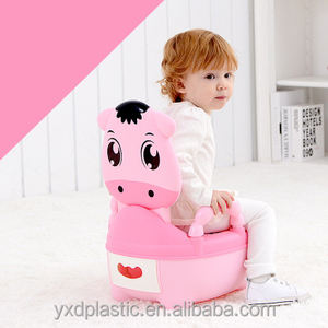 Animal design portable baby potty chair