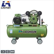 Portable belt driven industrial 70/100/150L 3hp air compressor V-0.25/8