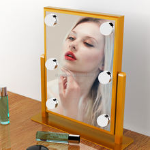Beauty Vanity Mirror with Bicolor Light and Touch Control Design, Hollywood Style Makeup Cosmetic Mirrors with Lights