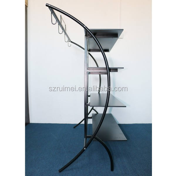 New fashion clothing store showcase clothes home textile display stand