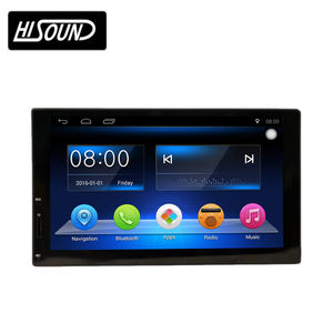 Di ALTA qualità di 7 pollici touch screen 1080 p gps per auto cd cassette radio player con 2 din