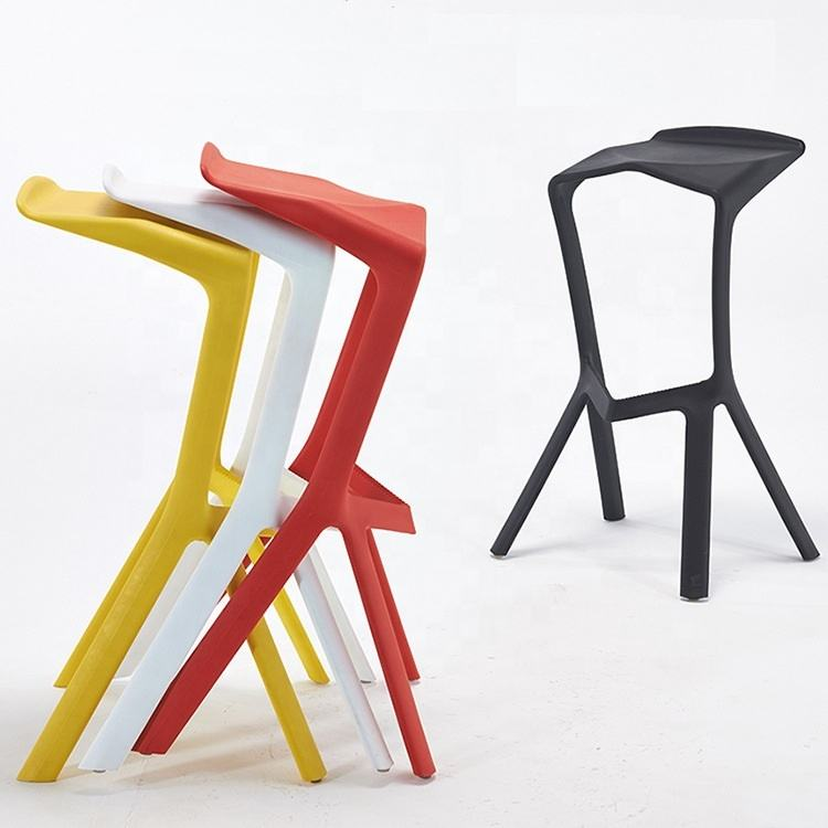 kitchen high chair modern plastic design chairs modern garden plastic bar stool chair