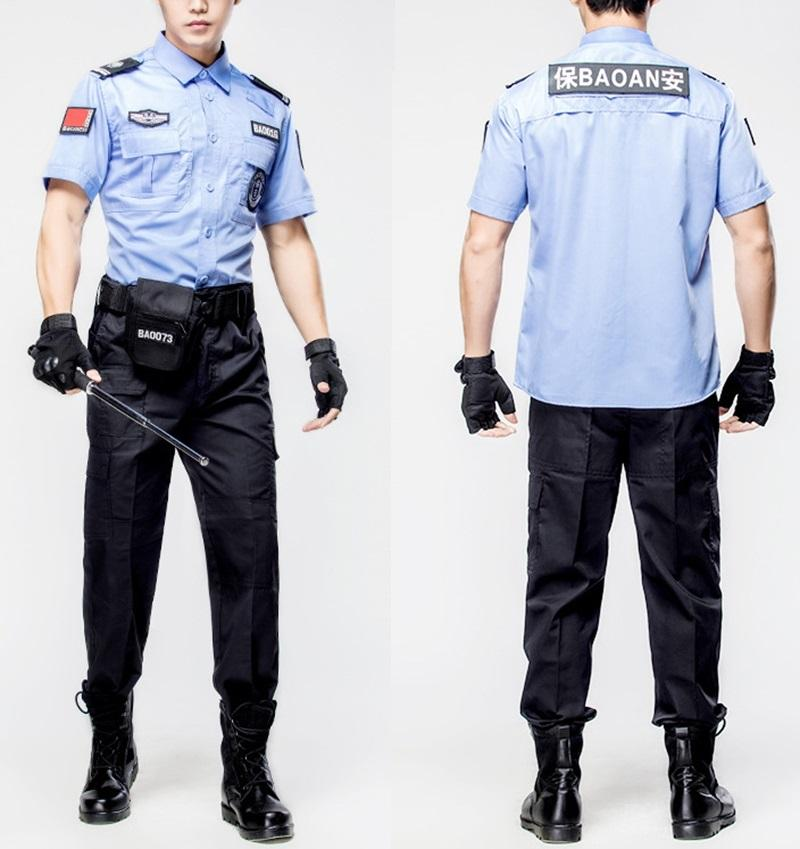 Factory Supply Men And Women Security Guard Uniform with Color
