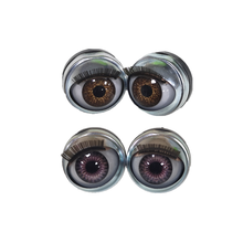 blinking safety acrylic open/close round doll eyes american girl doll eyes