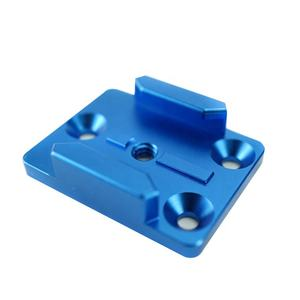 Precision anodized aluminum machinery industrial parts and tools by CNC machining service