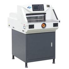 No MOQ OEM 4908A Automatic Stack Guillotine Paper Cutter Machine With Indpedent Press Paper Switch
