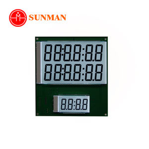 Sms1640 segmento pompa del carburante dispenser schermo lcd modulo display