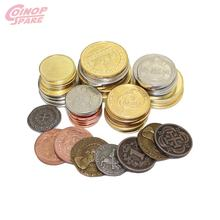 Wholesale Custom Arcade Game Metal Gold Silver Token Coins