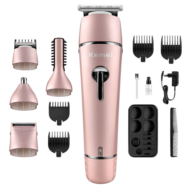 KEMEI KM-1015 wholesale 4in 1 Man Grooming Kit Beard Shaver Electric Body Hair Trimmer hair trimmer rechargeable