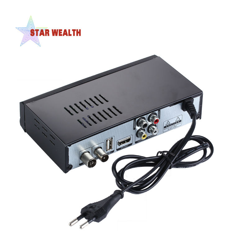 H.265 Hi-tech combo satellite internet receiver h.265 mpeg4 digital terrestrial receiver for European Market