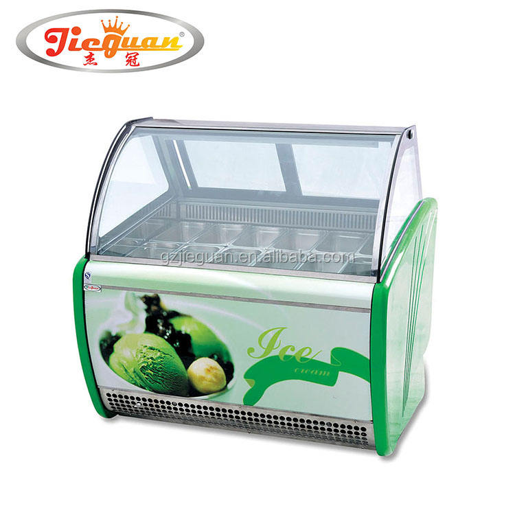 12 pentole gelato display freezer CB-1200