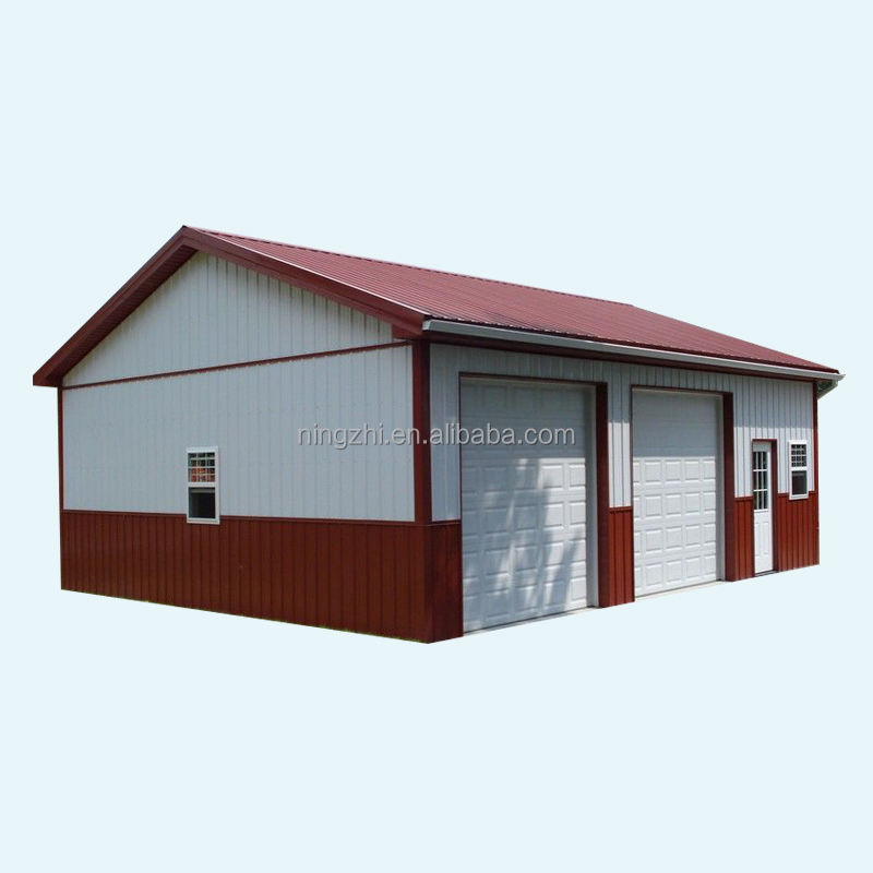 well-designed garage steel building/Residential Metal Garage kits easy assembly