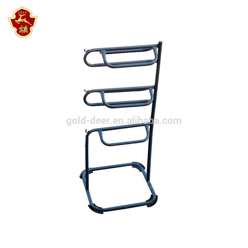 Steel Horse Saddle Rack