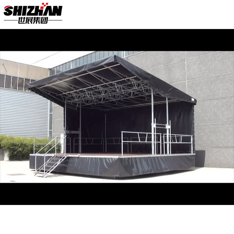 Aluminium Plywood Portable Cheap Mobile Stage for Sale