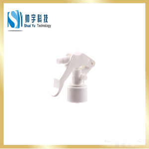 Yuyao professional non spill colorful plastic pump sprayer  cleaning hand sprayer  plastic mouse mini trigger sprayer