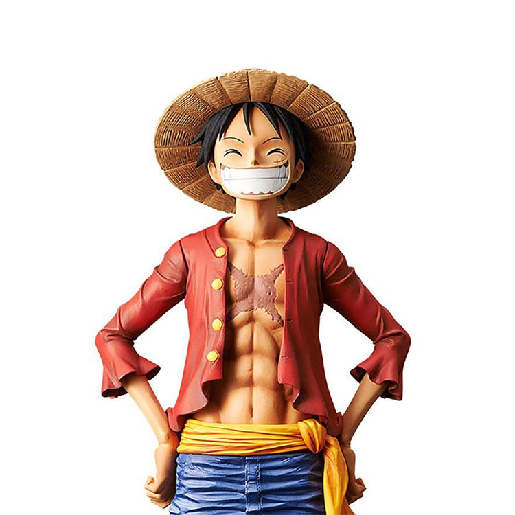 oem pvc resin japanese anime figurine one piece luffy action figure
