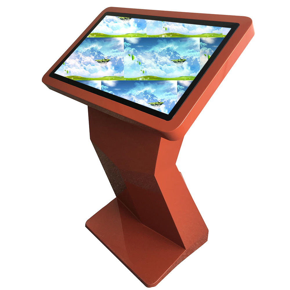 For hotel 32 inch/43 inch/55 inch computer single display interactive advertising information stand LCD TV touch screen kiosk