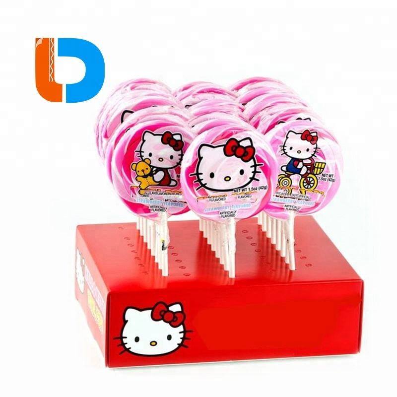China Factory Customized Retail Cardboard Lollipop Display Boxes