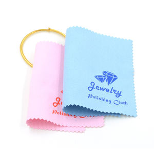 Custom Jewelry Polishing Cleaning Cloth Wholesale