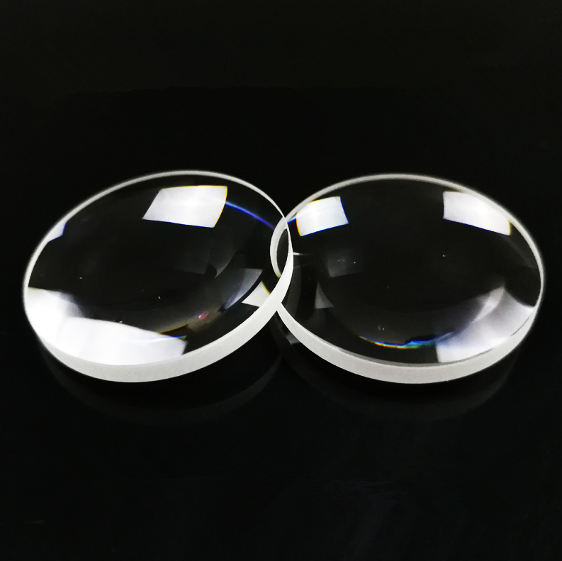 BK7 optical glass double convex lens