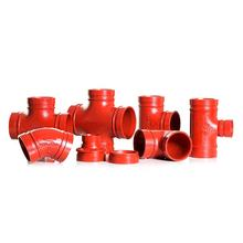 Made in China Ductile Cast Iron Grooved Pipe Fittings for Fire Fighting System