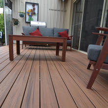 factory  WPC decking system outdoor wood plastic laminate flooring for balcony