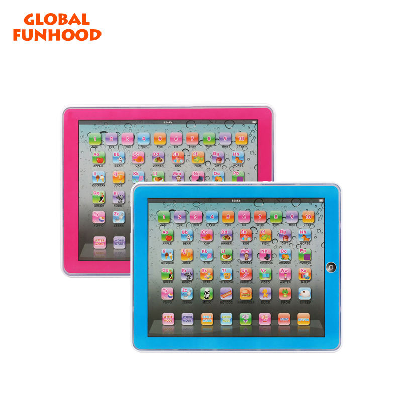 YS2921C new kids educational tablet y pad voice English ABC learning pad