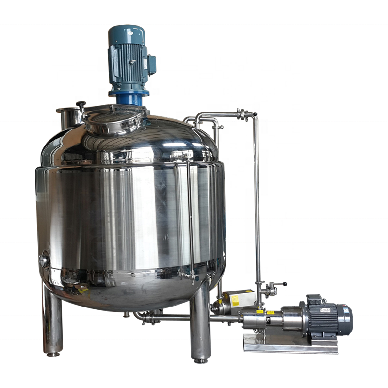 500L liquid soap mixer/dishwashing liquid making machine