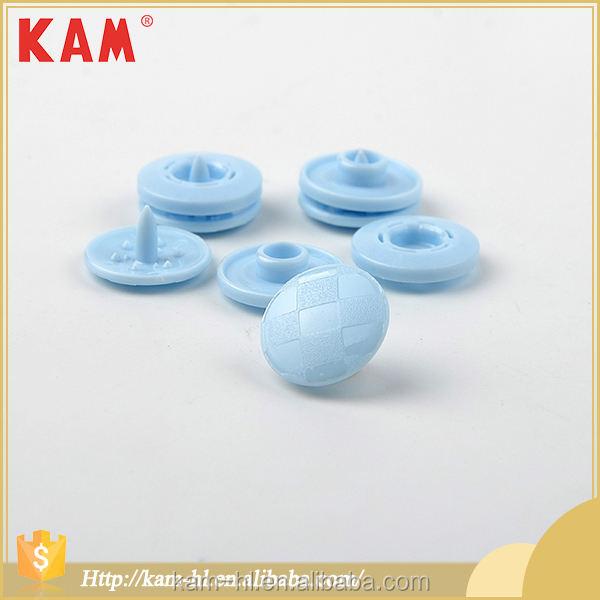 Plasti duraderos de alta calidad azul joyería de <span class=keywords><strong>botón</strong></span> a presión