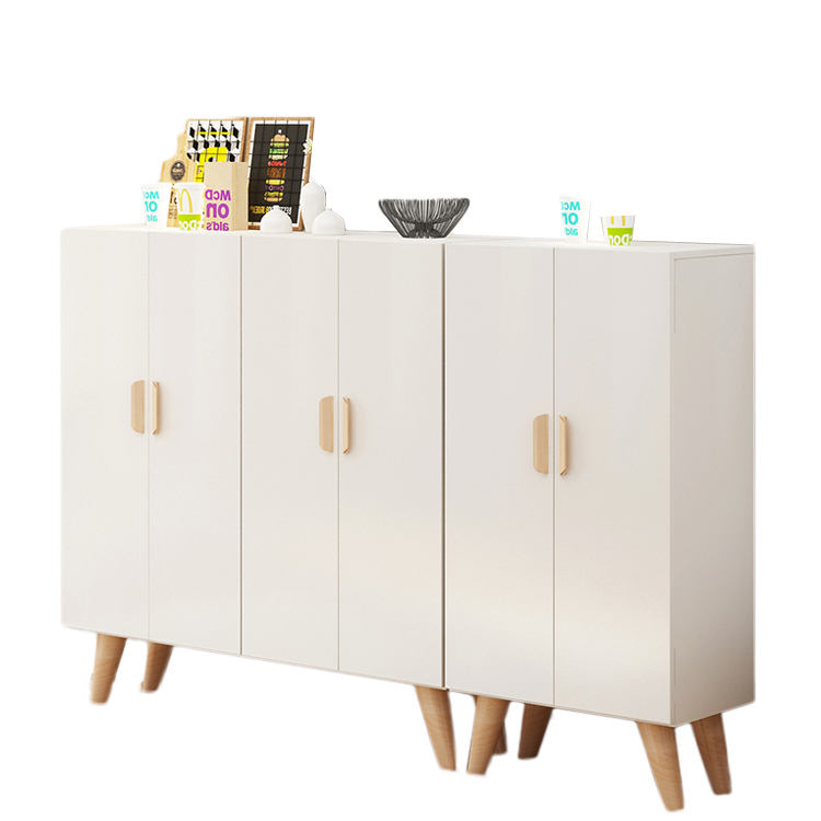 White Wholesale Home Furniture MFC shoe cabinet furniture for living room