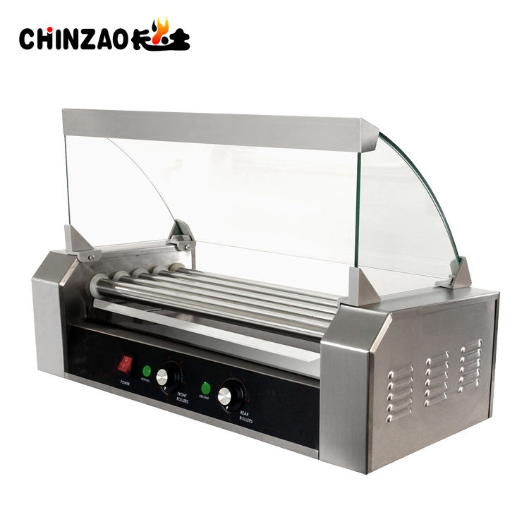 Commerciële Hot Dog Maken Hot Dog Grill Machine Voor Hot Koop
