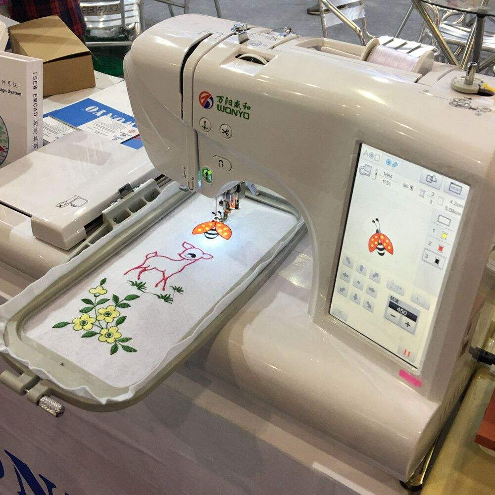 Single Head Computerized Flat Sewing Embroidery Machine