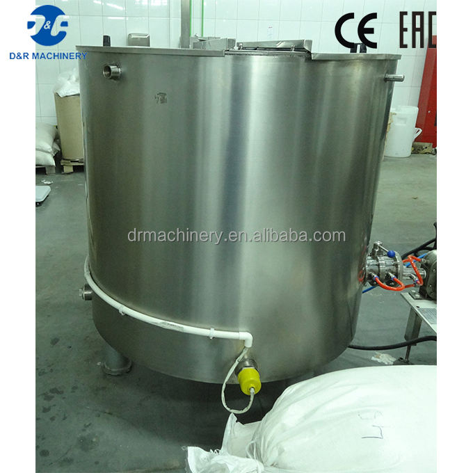 Fat melting tank for cocoa butter, CE certificated chocolate melter