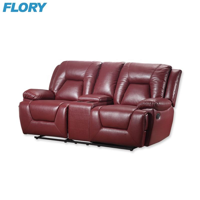 Wholesale discount leather recliners motion sofa and loveseat