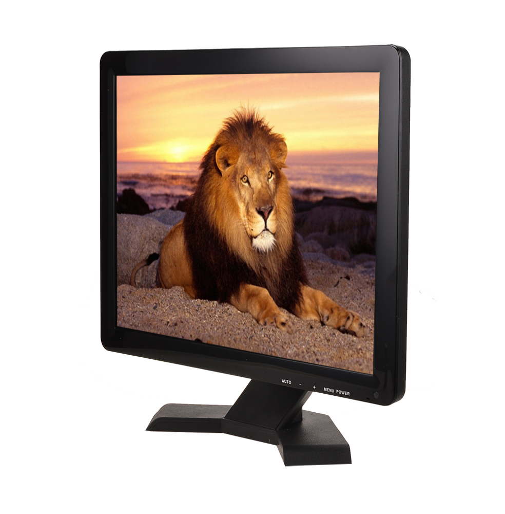 "Square 17 inch LCD Monitor 4:3 with VGA HDMIed Input 17"" LCD Computer PC Monitor"
