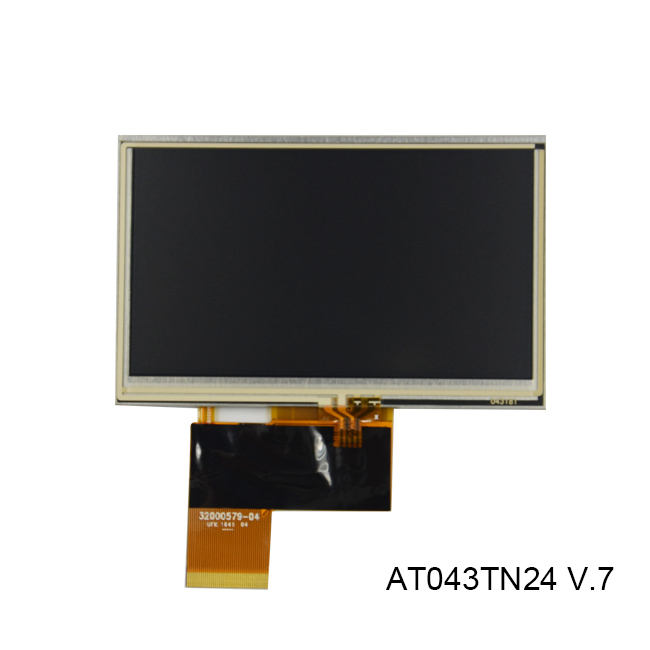 RGB ×272 For Innolux 4.3inch AT043TN13 40pins LCD Display With Touch Scren 480