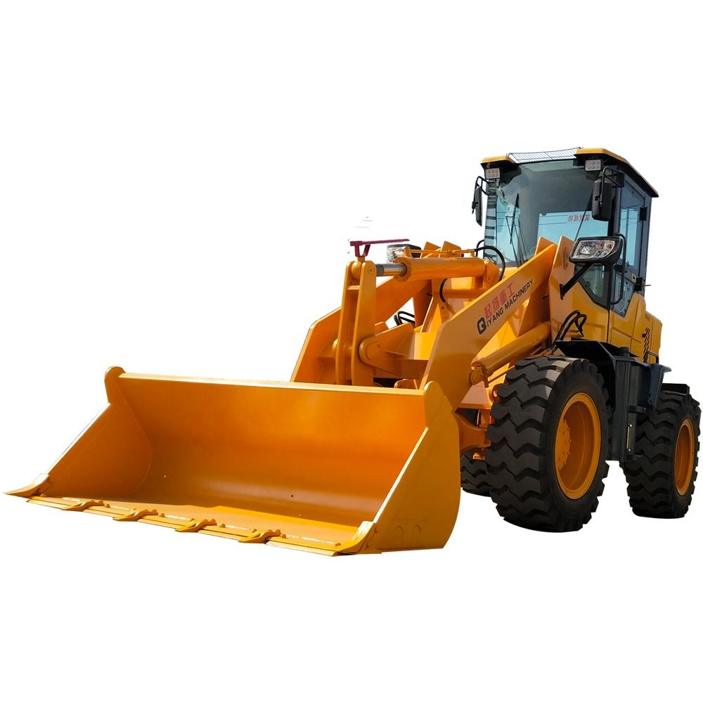 Heavy duty loading equipment QZ942 wheeled front loader factory direct sales