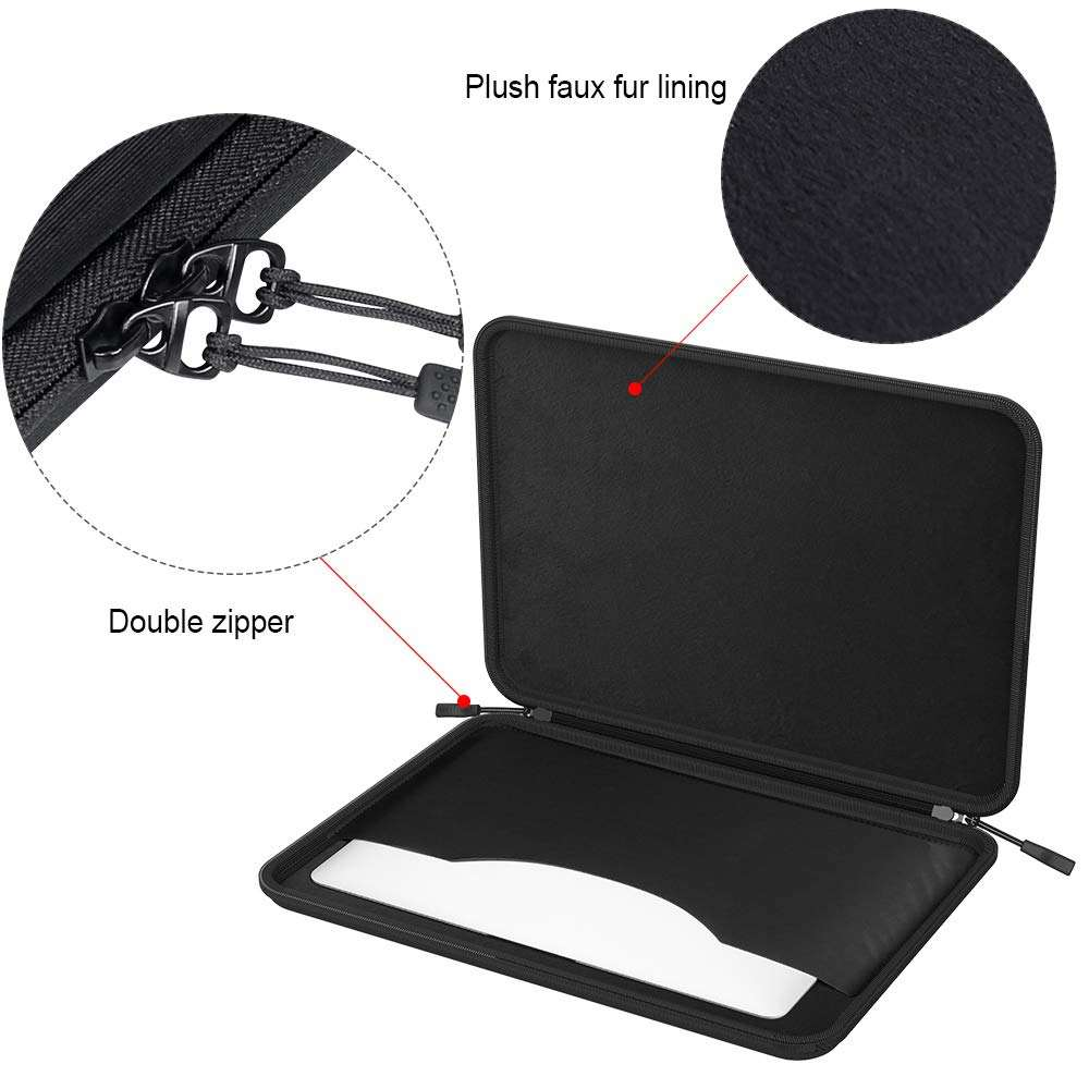 Smatree A230 Hard Shell Laptop Sleeve Tasche Fit für MacBook Pro 13,3 zoll, iPad Pro 12,9 inch, samsung Chromebook 3/ASUS