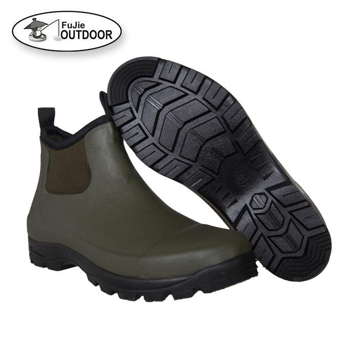 Men's Factory OEM Manufacturer Waterproof Garden Neoprene Rubber Boots