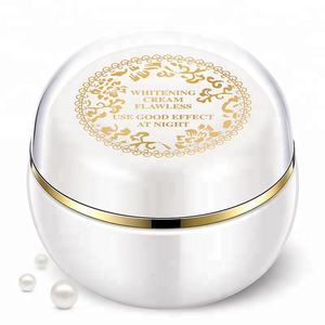 OEM/ODM face use anti-wrinkle nourishing herbal pure skin lightening whitening lady cream for lazy women