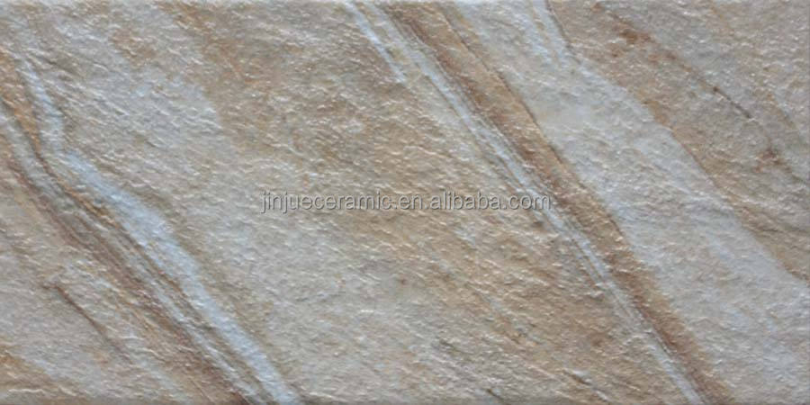 20x40cm somany cream color quartz cast stone exterior wall tile