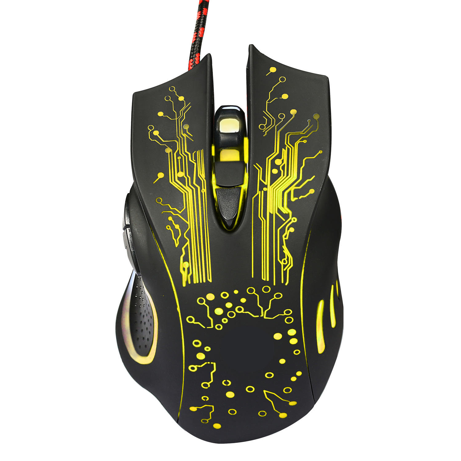Amazon Vendita Calda 1600DPI Wired Gaming <span class=keywords><strong>Mouse</strong></span> Con La Luce <span class=keywords><strong>del</strong></span> LED per il Computer Utilizzando