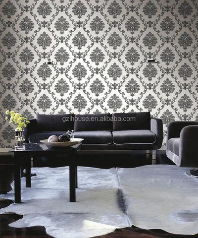 Rubine black and white damask wholesale price Ks 1200