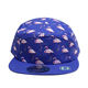 Sublimation pattern custom 5 panel hats buckle strap back