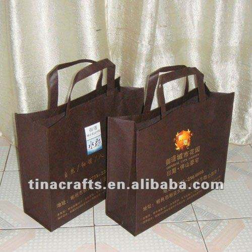 Brown non woven bag